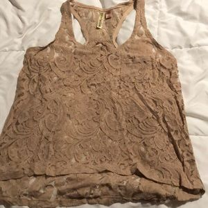 Eyeshadow Lace Tank